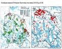 Pohjois-Savossa susihavaintojen määrä on lisääntynyt jonkin verran verrattaessa vuosia 2006 ja 2011.