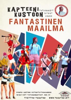 Teatteri-Traktorin koko perheen esityksessä Hasaniemessä yhdistyvät teatteri, tanssi ja uusi sirkus.