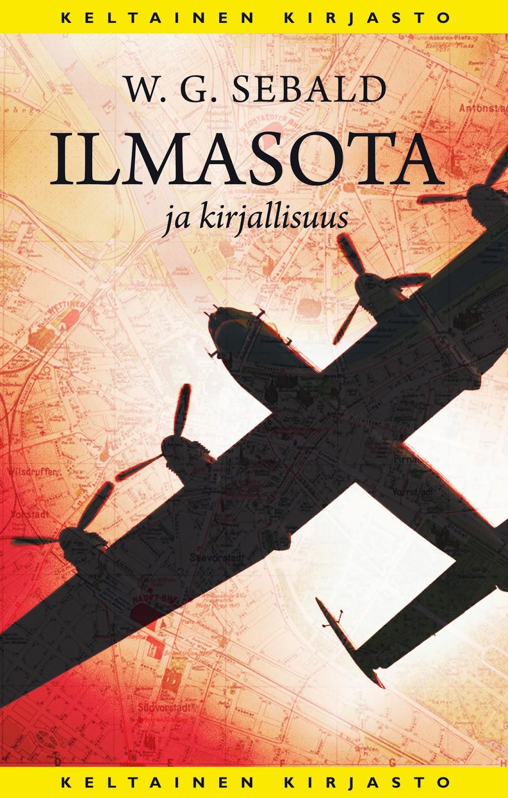 W.G. Sebald. Ilmasota ja kirjallisuus. Suom. Oili Suominen. Tammi 2014, s. 155.