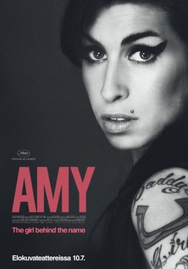 Amy (2015), Ohjaaja Asif Kapadia. Pääosissa Amy Winehouse, Mitch Winehouse, Blake Fielder-Civil.127 min
