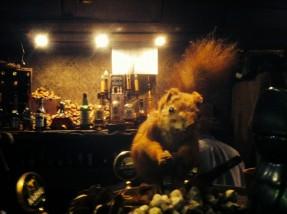 Orava on täytetty.