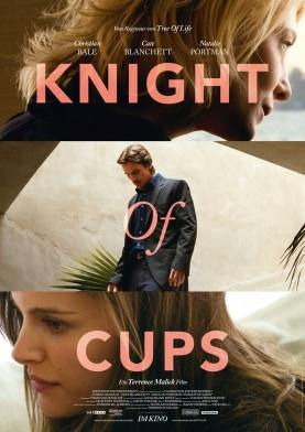 Knight of Cups (2015). Käsikirjoitus ja ohjaus: Terrence Malick Pääosissa: Christian Bale, Cate Blanchett, Natalie Portman, Wes Bentley, Antonio Banderas